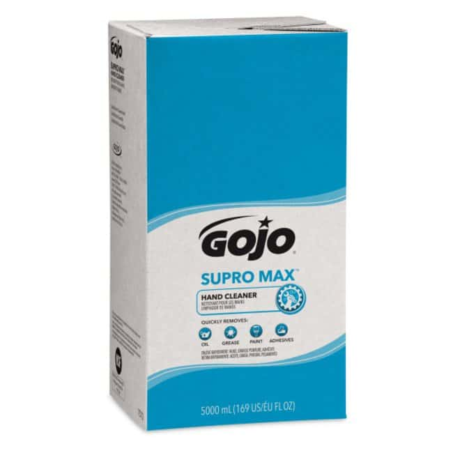 GOJO SUPRO MAX Hand Cleaner Refill Capacity: 5000mL:Gloves, Glasses and