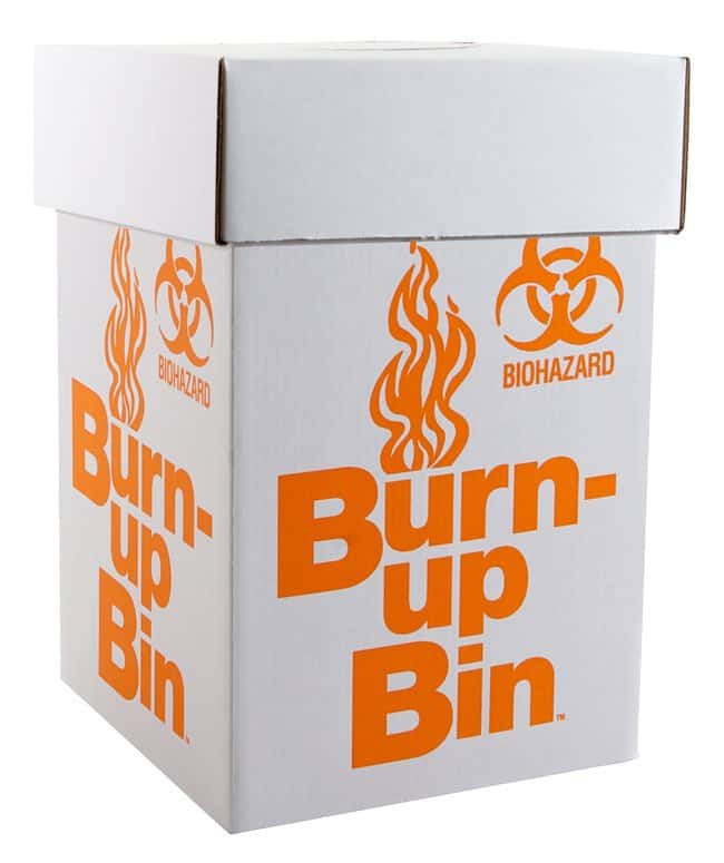 Fisherbrand™ Burn-up Bin™ Biohazard Waste Boxes