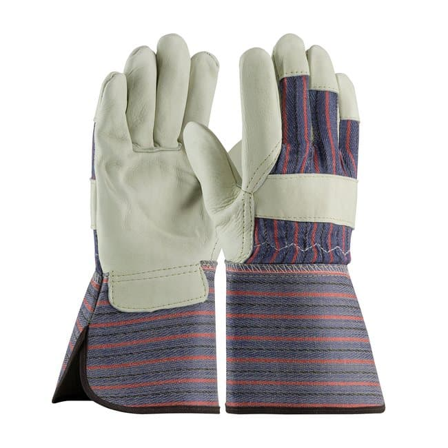 Fisherbrand Top-Grain Leather Palm Gloves:Gloves, Glasses and Safety:Gloves