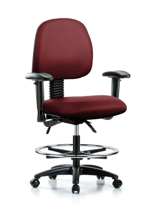 FisherbrandVinyl Chair - Medium Bench Height with Medium Back:Furniture:Seating