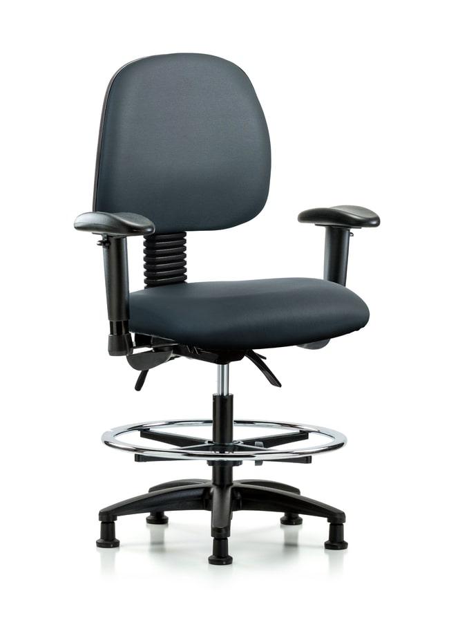 FisherbrandVinyl Chair - Med Bench Height with Medium Back, Seat Tilt Storm:Furniture