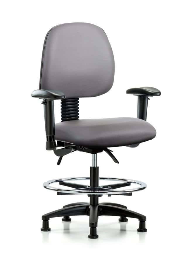 FisherbrandVinyl Chair - Med Bench Height with Medium Back, Seat Tilt:Furniture:Seating