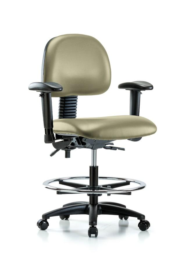 FisherbrandVinyl Chair - Medium Bench Height with Seat Tilt, Adjustable