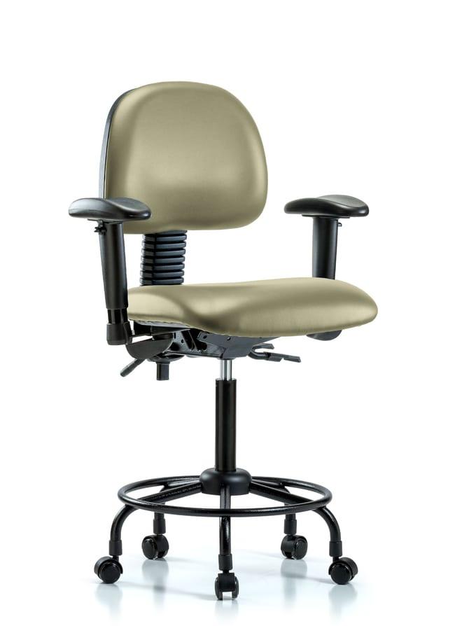 FisherbrandVinyl Chair - Medium Bench Height with Round Tube Base:Furniture:Seating