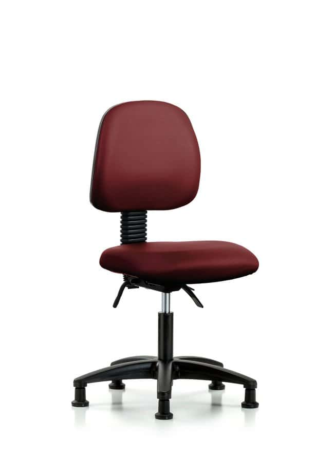 FisherbrandVinyl Chair - Desk Height with Medium Back and Casters in Grade