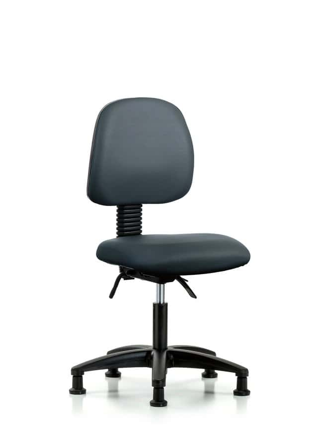Fisherbrand Vinyl Chair - Desk Height with Medium Back, Seat Tilt, and