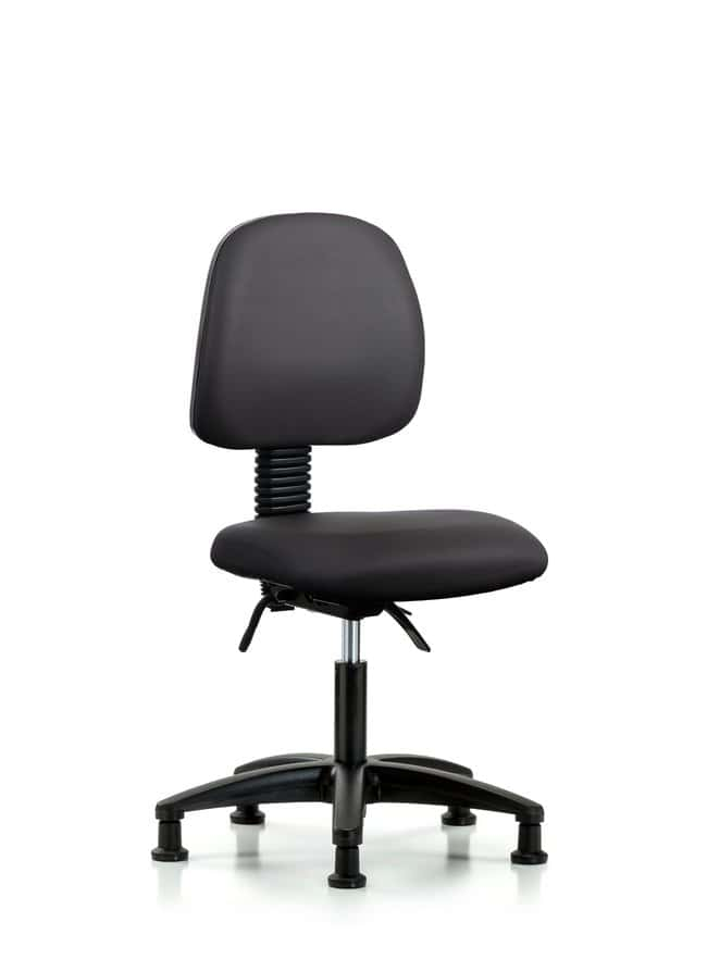 FisherbrandVinyl Chair - Desk Height with Medium Back, Seat Tilt, and Casters