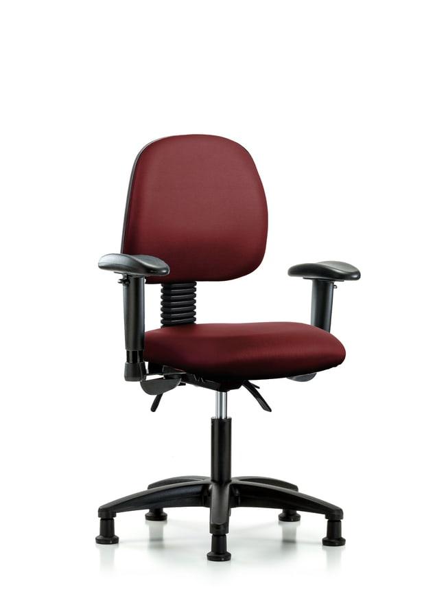 Fisherbrand Vinyl Chair - Desk Height with Medium Back, Seat Tilt Borscht:Furniture,