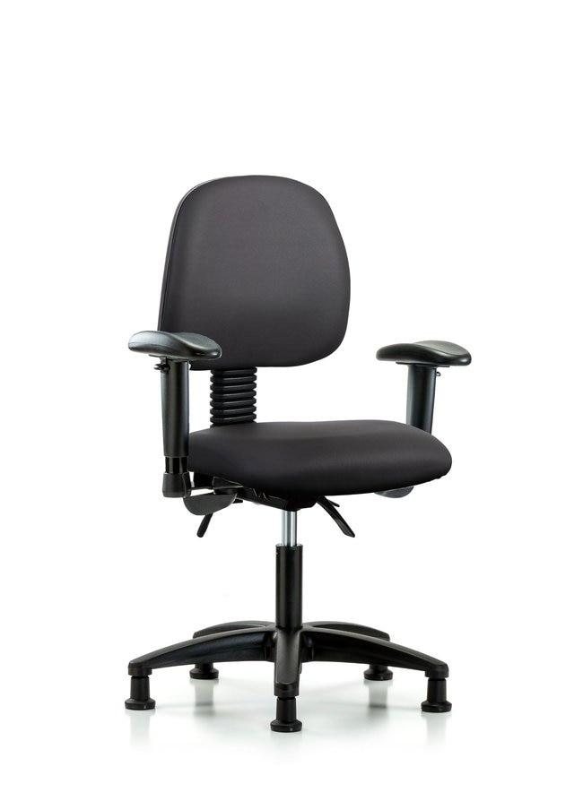 FisherbrandVinyl Chair - Desk Height with Medium Back, Seat Tilt:Furniture:Seating