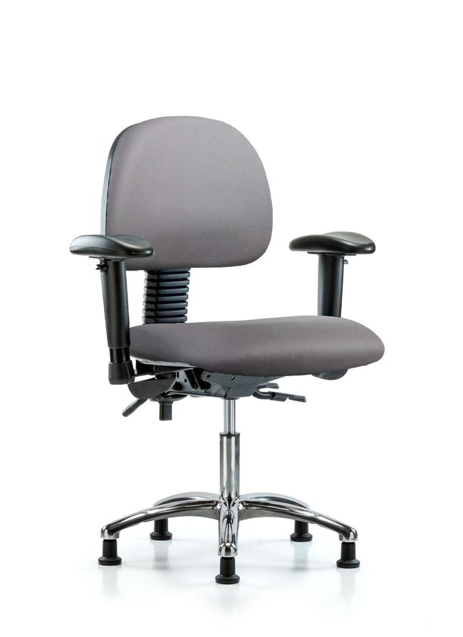 FisherbrandVinyl Chair Chrome - Desk Height with Seat Tilt:Furniture:Seating