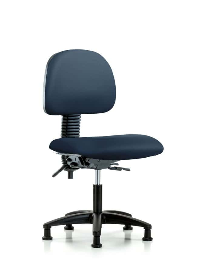 FisherbrandVinyl Chair - Desk Height with Seat Tilt and Casters in Grade