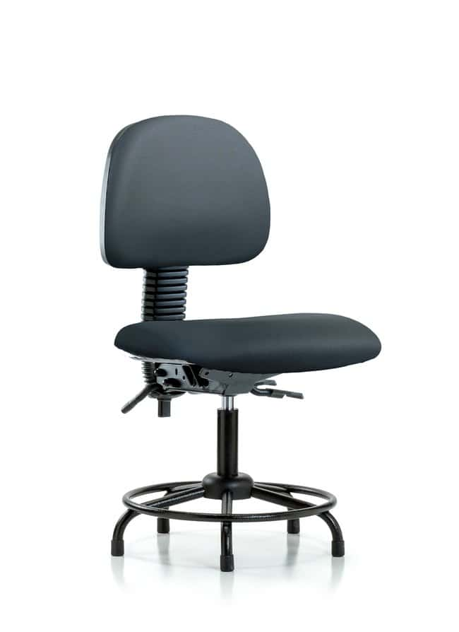 FisherbrandVinyl Chair - Desk Height with Round Tube Base and Stationary