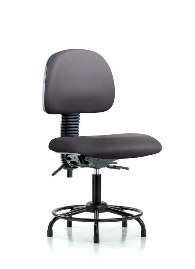 Fisherbrand Vinyl Chair - Desk Height with Round Tube Base and Stationary