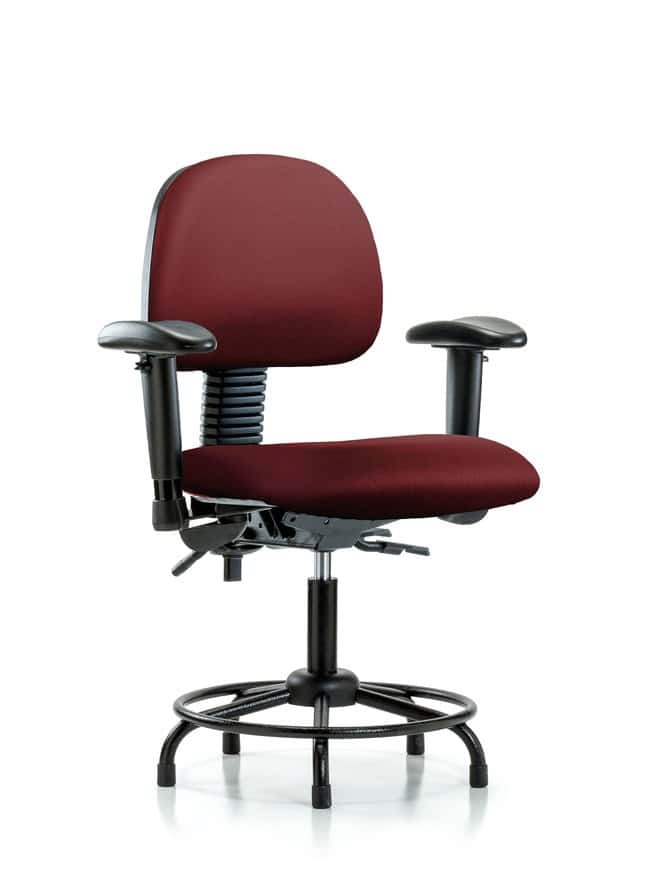 FisherbrandVinyl Chair - Desk Height with Round Tube Base Borscht:Furniture