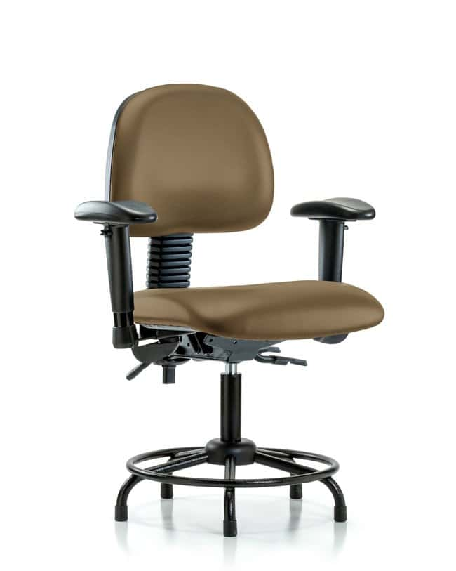 FisherbrandClass 100 Vinyl Clean Room Chair - Desk Height with Medium Back