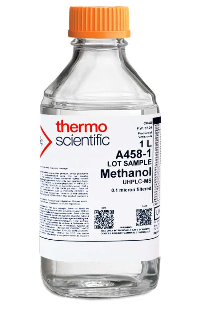 Methanol, UHPLC-MS, Thermo Scientific