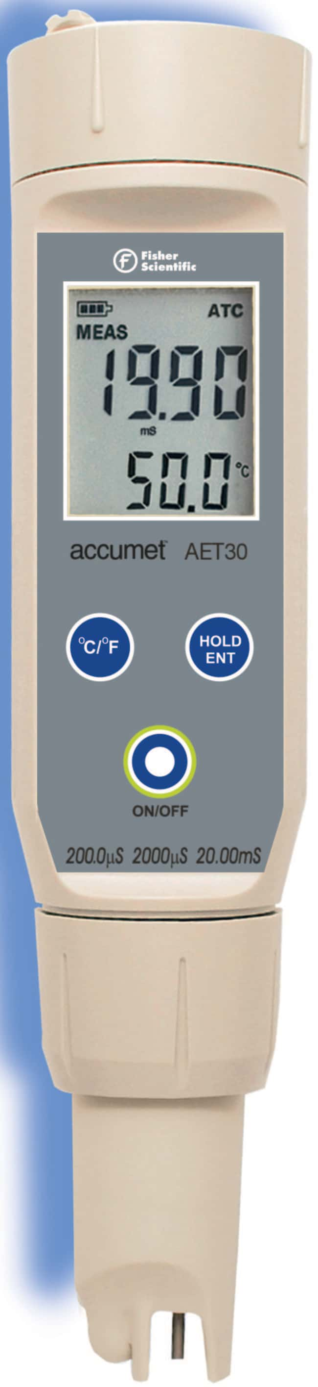 accumet accumet™ AET30 Conductivity Tester  Portable Conductivity Meters