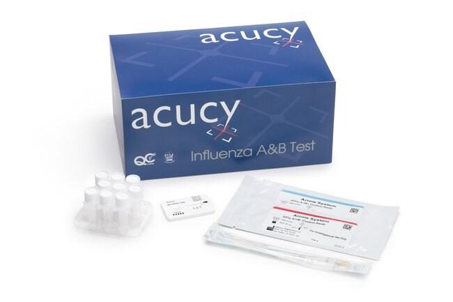 Sekisui DiagnosticsAcucy Influenza AB Test Kit Quantity: 25/Pk:Diagnostic