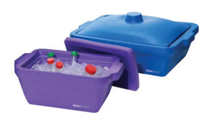 Fisherbrand™EVA Foam Ice Pans and Buckets with Lids