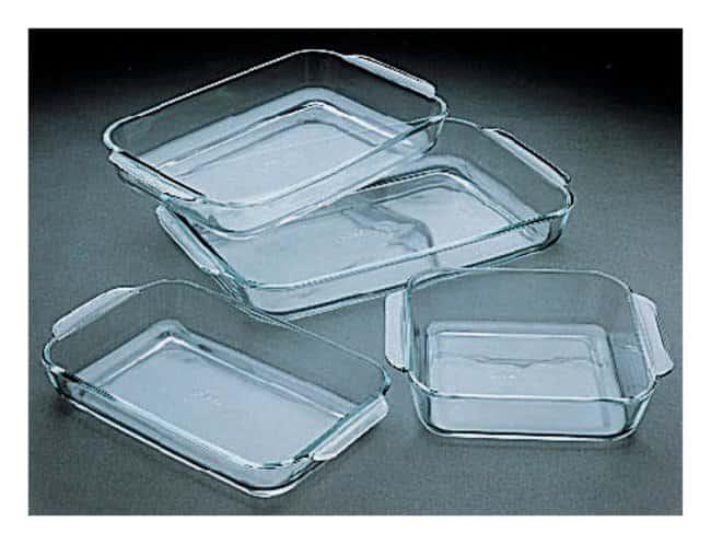 PYREX Glass Drying Trays  3500mL:Dishes, Plates and Flasks