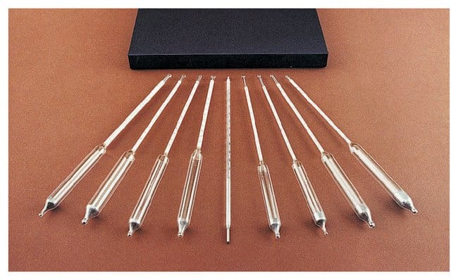 Fisherbrand Set of Eight Precision Specific Gravity Hydrometers :Spectrophotometers,