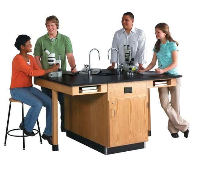 Diversified Woodcrafts 4-Station Service Center with Sink  :Teaching Supplies:Classroom