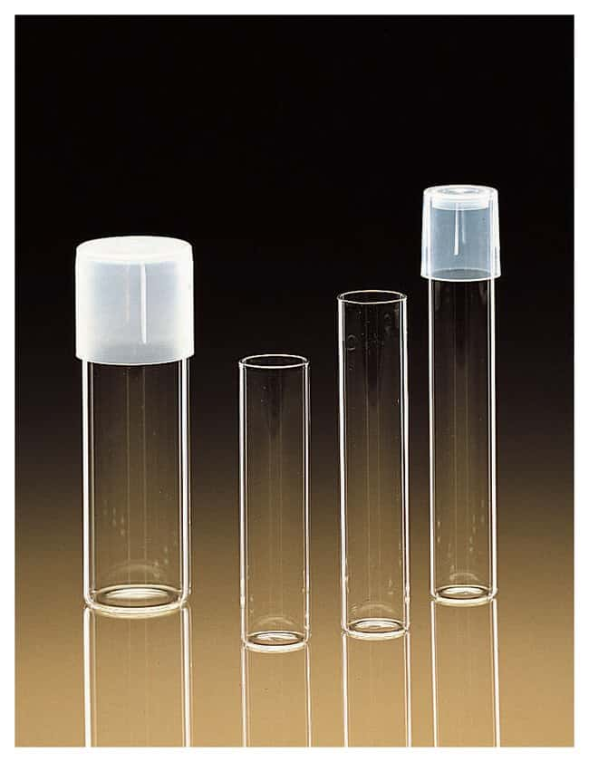 PYREX Disposable Rimless Flat-Bottom Glass Tubes::