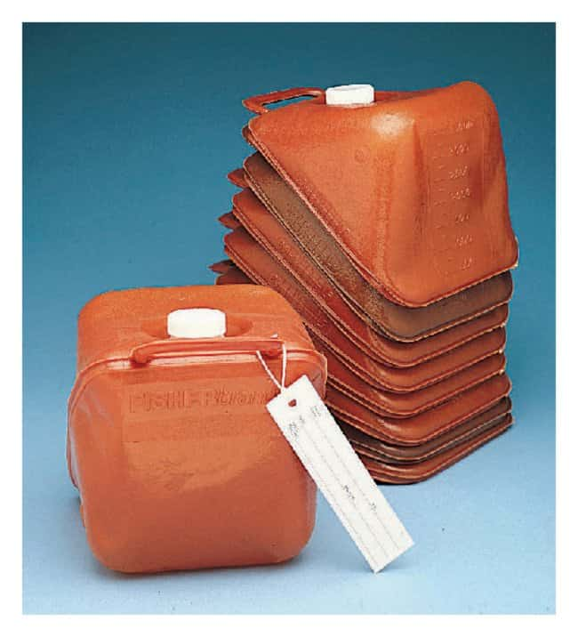 Fisherbrand Collapsible 4-Liter Sample Containers O.D.: 63mm:First Responder