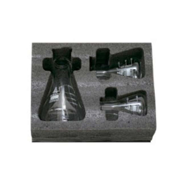 Eisco Safety Pack Erlenmeyer Flask Sets  Capacity: 50 mL, 100 mL, 250