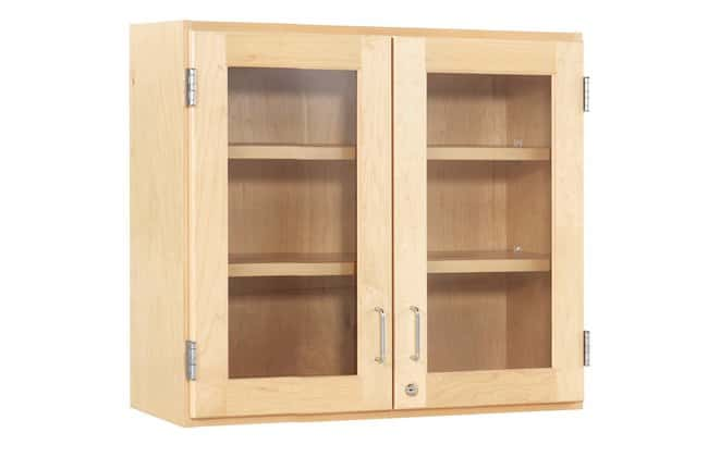Diversified Woodcrafts Maple Wall Cabinets   Glass double door; D x W x