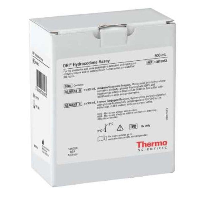 Thermo Scientific DRI Hydrocodone Drugs of Abuse Calibrators:Diagnostic