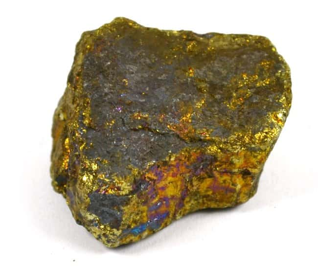 Eisco Chalcopyrite Mineral Specimen :Teaching Supplies:Earth and Space