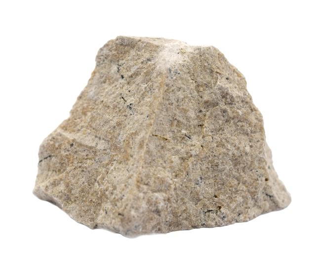 Eisco Travertine Sedimentary Rock Specimen :Teaching Supplies:Earth and