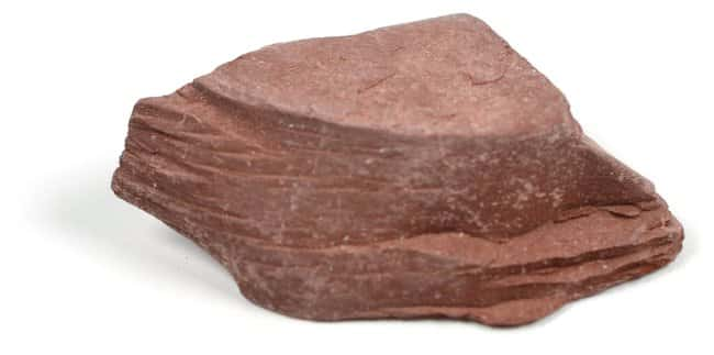 Eisco Red Slate Metamorphic Rock Specimen :Teaching Supplies:Earth and