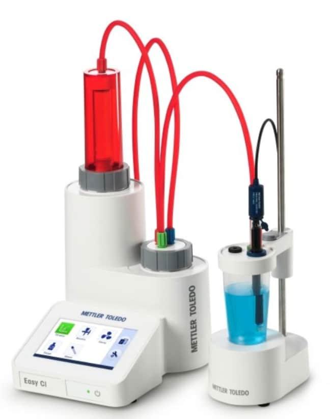 METTLER TOLEDOEasyPlus Easy Cl Titrator Measures precipitation titrations;