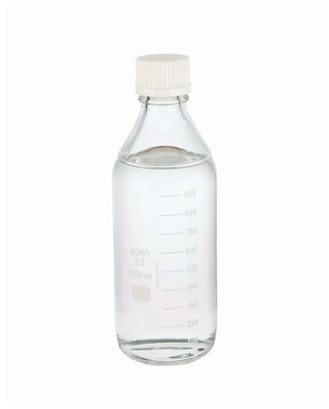 DWK Life Sciences Wheaton™ Lab 45 Graduated Bottles With Cap Attached