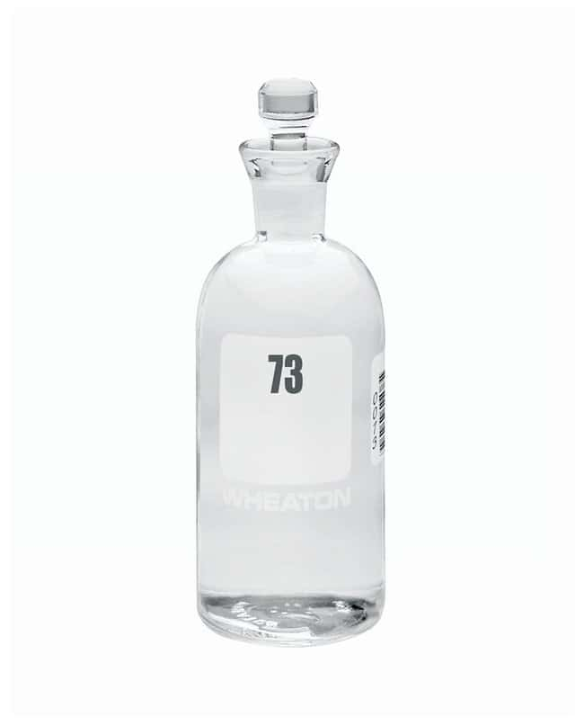 DWK Life Sciences Wheaton™ BOD Bottles 300mL; Robotic stopper; No. Sequence: 73 to 96 DWK Life Sciences Wheaton™ BOD Bottles