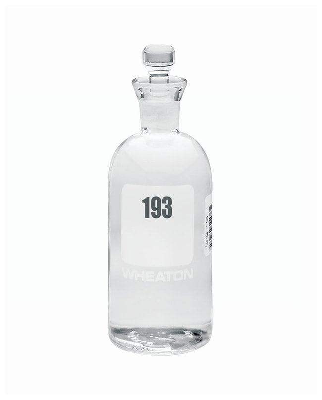 DWK Life SciencesWheaton™ BOD Bottles 300mL; Robotic stopper; No. Sequence: 193 to 216 DWK Life SciencesWheaton™ BOD Bottles