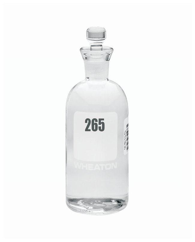 DWK Life SciencesWheaton™ BOD Bottles 300mL; Robotic stopper; No. Sequence: 265 to 288 DWK Life SciencesWheaton™ BOD Bottles