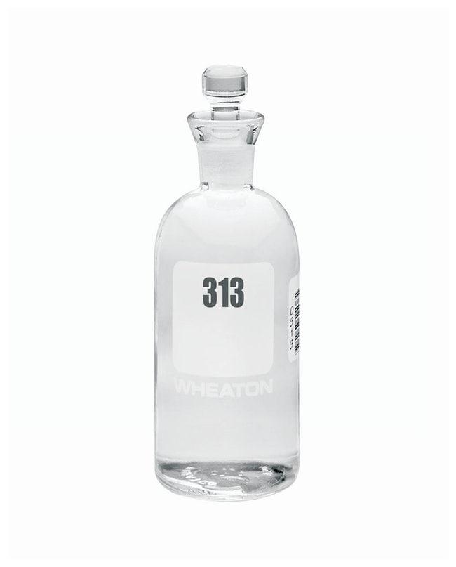 DWK Life SciencesWheaton™ BOD Bottles 300mL; Robotic stopper; No. Sequence: 313 to 336 DWK Life SciencesWheaton™ BOD Bottles