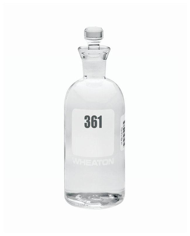 DWK Life SciencesWheaton™ BOD Bottles 300mL; Robotic stopper; No. Sequence: 361 to 384 DWK Life SciencesWheaton™ BOD Bottles