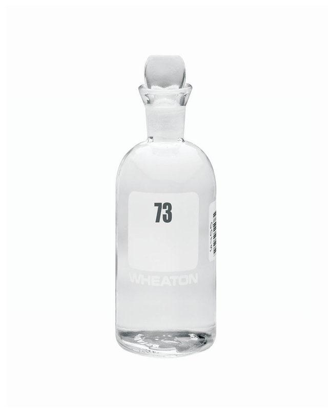 DWK Life SciencesWheaton™ BOD Bottles 300mL; Pennyhead stopper; No. Sequence: 73 to 96 DWK Life SciencesWheaton™ BOD Bottles