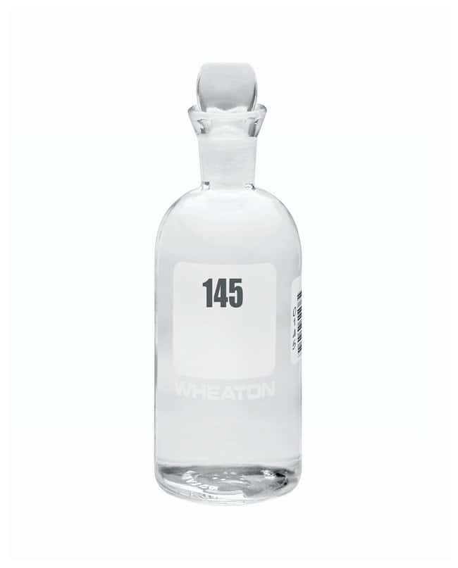 DWK Life Sciences Wheaton™ BOD Bottles 300mL; Pennyhead stopper; No. Sequence: 145 to 168 DWK Life Sciences Wheaton™ BOD Bottles