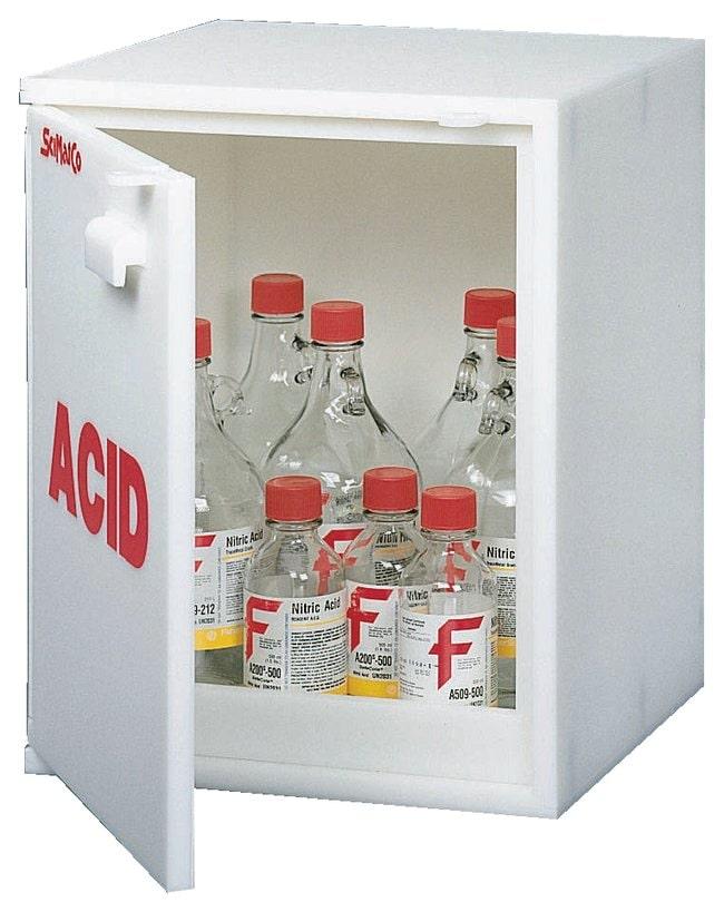 SciMatCo™Plast-a-Cab™ Acid Cabinet