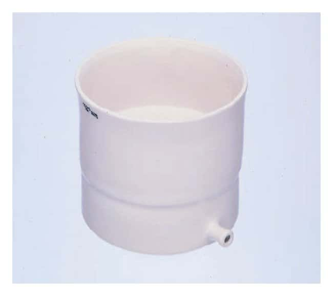 CoorsTek Porcelain Buchner Funnel with Fixed Perforated Plate for Vacuum