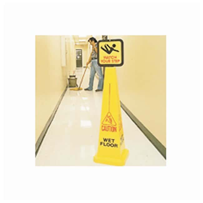 Brady Bradycone; Warning System Yellow cone; Red/black Wet Floor; Height: