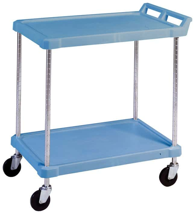 Fisherbrand Deep Ledge Polymer Utility Cart :BioPharmaceutical  Production:Production