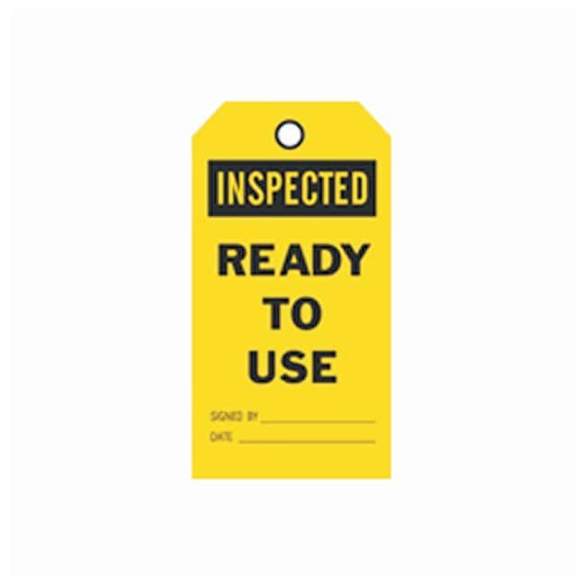 Brady™ Accident Prevention Tags - Inspected