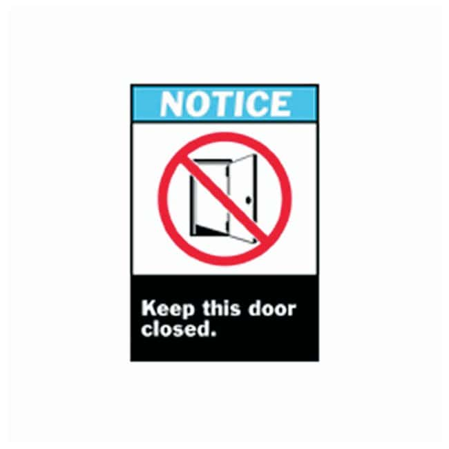 Brady™ ANSI Z535 Safety Signs: Keep This Door Closed