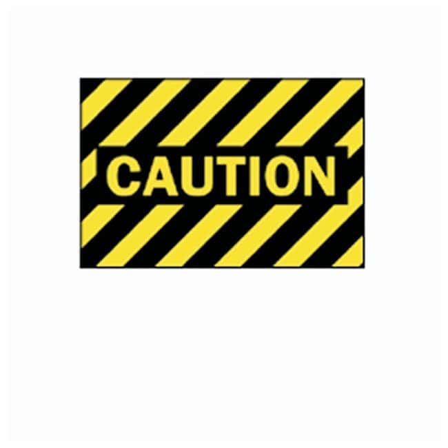 Brady Machine and Operational Signs Tuff Aluminum sign; Legend: CAUTION